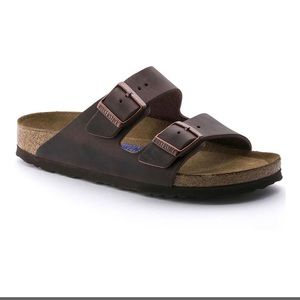 Birkenstock Arizona sandal in Habana leather